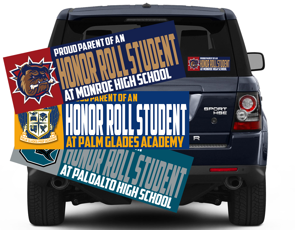 honor-roll-bumper-stickers